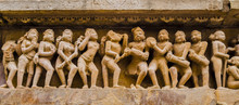 Stone Carved Bas-relief With D...