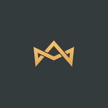 Abstract Vetor Crown Logo Vect...