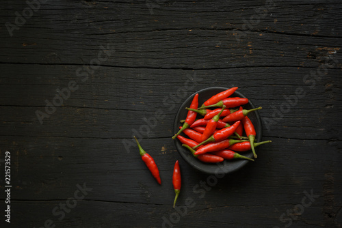 Canvas Prints Hot chili peppers Red and Green Chillies