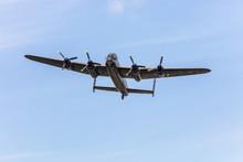 Old Wartime Air-plane Lancaste...