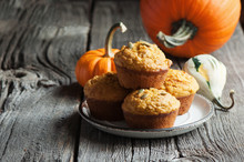 Pumpkin Muffins, Healthy Vegan...