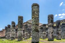 Old Maya Temple In Chichén Itzá, Mexico