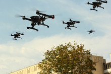 Swarm Of Unmanned Aircraft Sys...