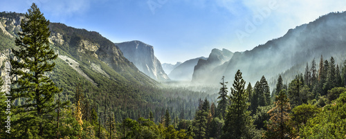 Yosemite National Park, Yosemite Valley Canvas Print