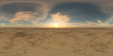 Panorama Of Landscape. Environment Map. HDRI . Equidistant Projection. Spherical Panorama. Panorama 360.