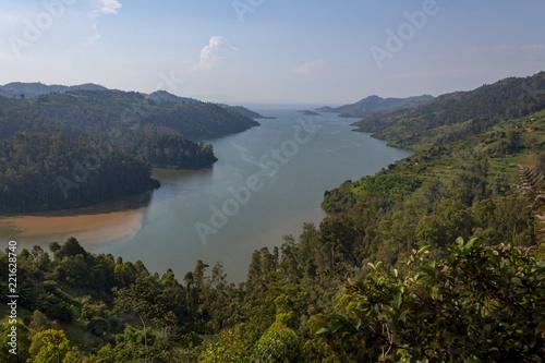 Foto op Aluminium Zee / Oceaan Lake Kivu in Rwanda
