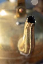 Close Up Detail Of Vintage Met...