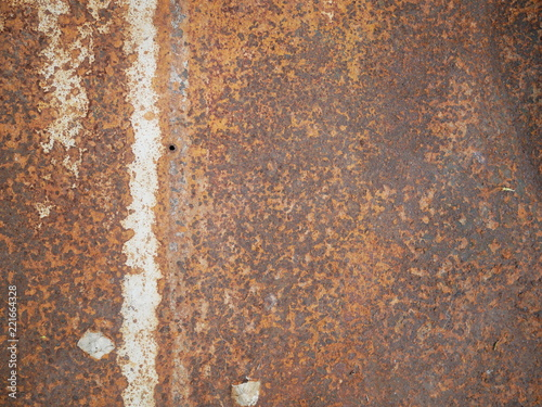 Poster Metal texture of rusty metal