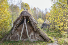Grass Hut In The Forest In Aut...