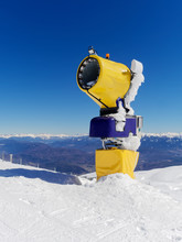 Snowmaking Cannon Or Gun Machine