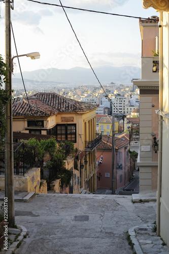 Fotografia, Obraz  rue d'Athènes