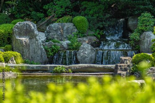 Fotografie, Obraz  Waterfall Pond