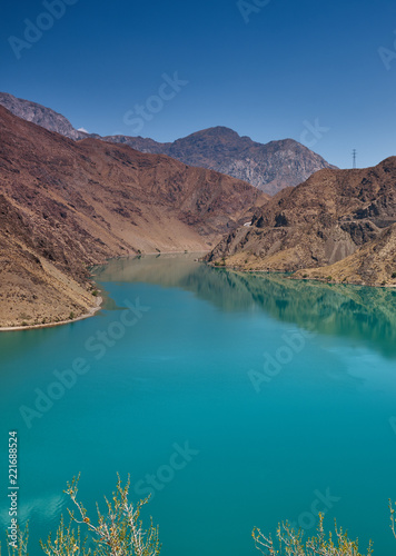 Foto op Aluminium Asia land Naryn River