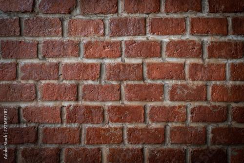 Foto op Plexiglas Wand Brick wall pattern for background
