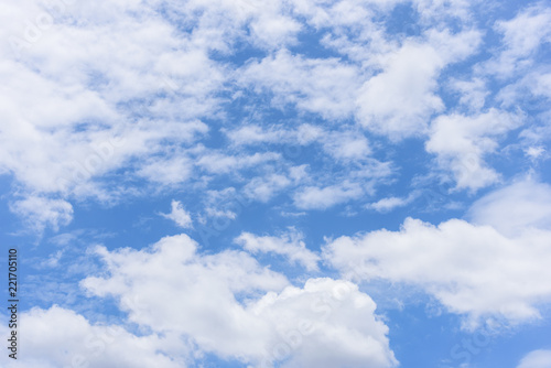 Canvas Prints Heaven The nature of blue sky with cloud in the morning.
