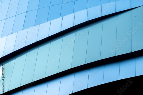 Fototapeta Abstract background architecture lines. modern architecture detail obraz