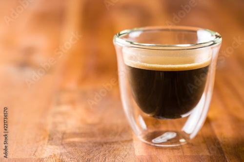 Foto op Canvas Alcohol Cup of espresso coffee