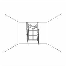 Lambrequin.classic Curtains. Curtains