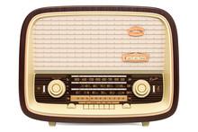 Vintage Radio Receiver Front V...