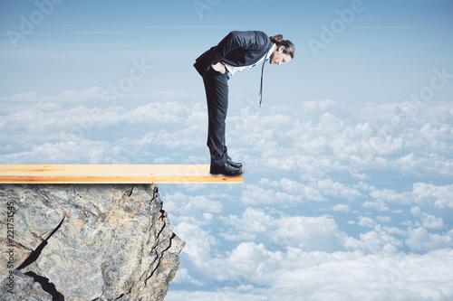 Fotomural  Risk and danger concept