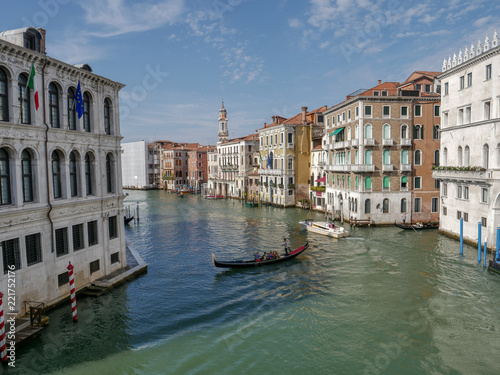 Spoed Foto op Canvas Kanaal Venice, Italy, Venetian Grand Canal in summer