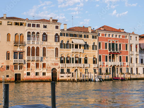Recess Fitting Channel Venice, Italy, Venetian Grand Canal in summer
