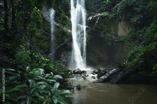 Recess Fitting Waterfalls Waterfall Waterfall in nature travel mok fah waterfall