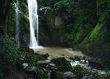 Waterfall Waterfall in nature travel mok fah waterfall