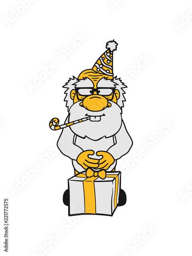 Geburtstag Geschenk Hut Trote Feiern Party Klein Opa Alt Grossvater