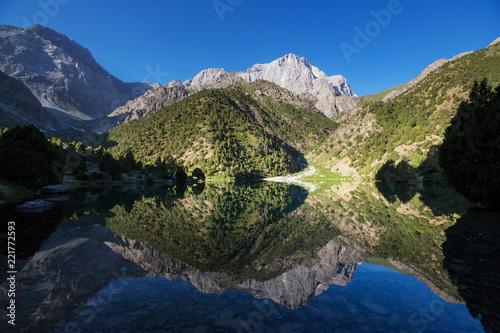 Fann mountains lake