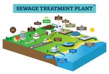 Sewage Treatment Plant Infogra...