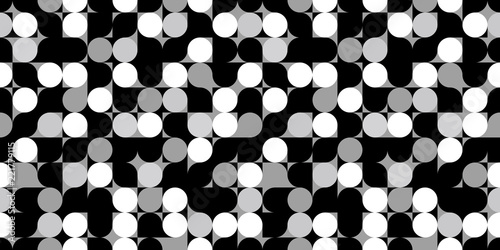 Cuadros en Lienzo Modern background. Seamless pattern.Vector. モダンなパターン