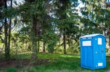 Bio-toilet In The Park.