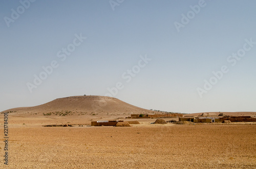 Foto  Hills in Morocco