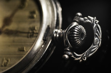 Antique Pocket Watch With Vint...
