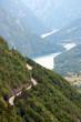 road serpetine on the Tara mountain landscape