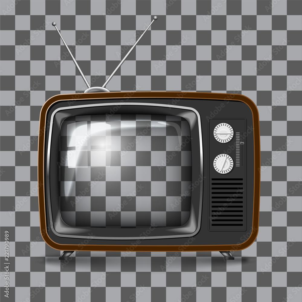 Fototapeta Vector Retro TV