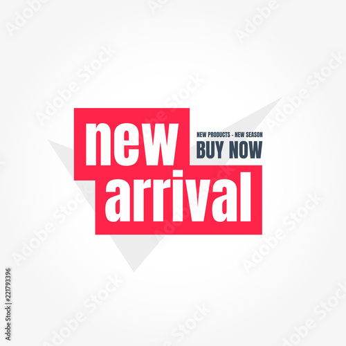 New Arrival Buy Now Label Wallpaper Mural