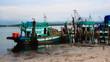 fishing boat at a pier