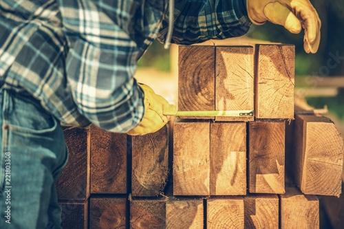 Building Wood Beams