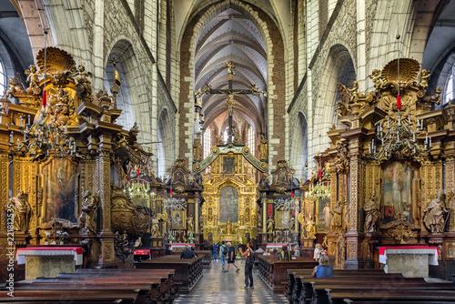 Fototapeta Corpus Christi Basilica in Krakow, Poland obraz