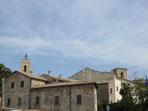Keuken foto achterwand Oude gebouw Antica chiesa