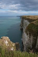The Impressive Cliffs At Bempton Near Bridlington