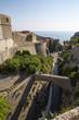 Panorama of old city Dubrovnik in Croatia - Bridge