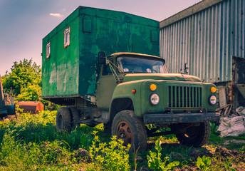 Stara ciężarówka