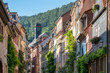 Leinwanddruck Bild Große Mantelgasse in Heidelberg, Deutschland