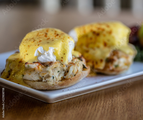 Photo eggs benedict chesapeake