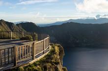 Mirador Sur La Lagune De Quilotoa, Équateur