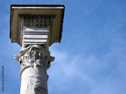 Obraz na plátně Rom, Korinthische Säule