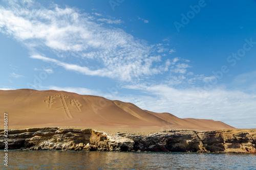 Foto op Aluminium Arctica îles Ballestas Pérou Ica Paracas Lima Paysage excursion visite tour